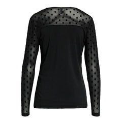 Prinzel dot bluse · Black