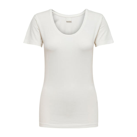 Ditte t-shirt · Chalk