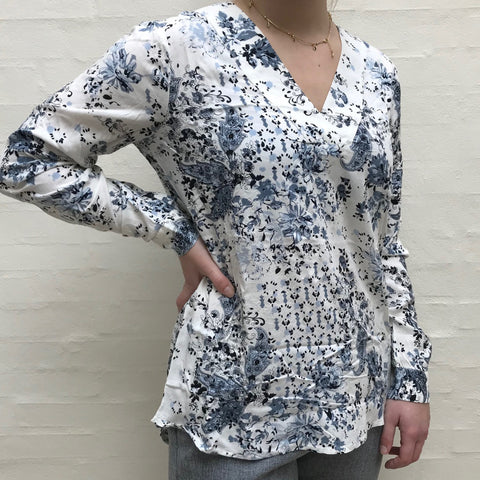 Winni Bluse · Blue mix