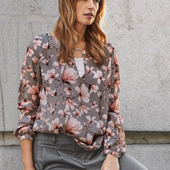 Isabel Bluse · Alloy Grey