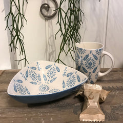 Krus Cottage Delight · Blue