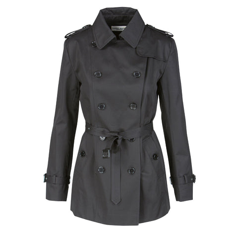 Nice trench coat · Black