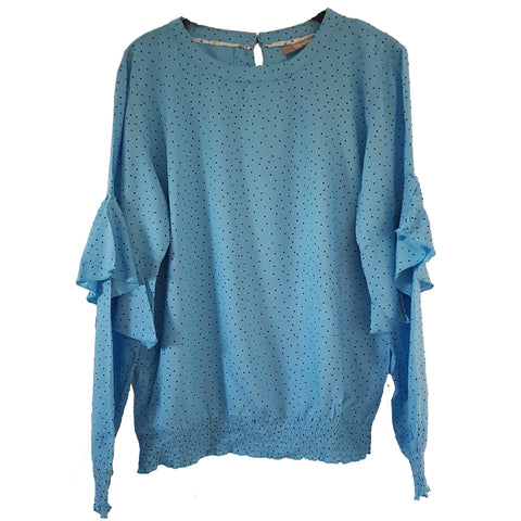 Gitte bluse · Light Blue