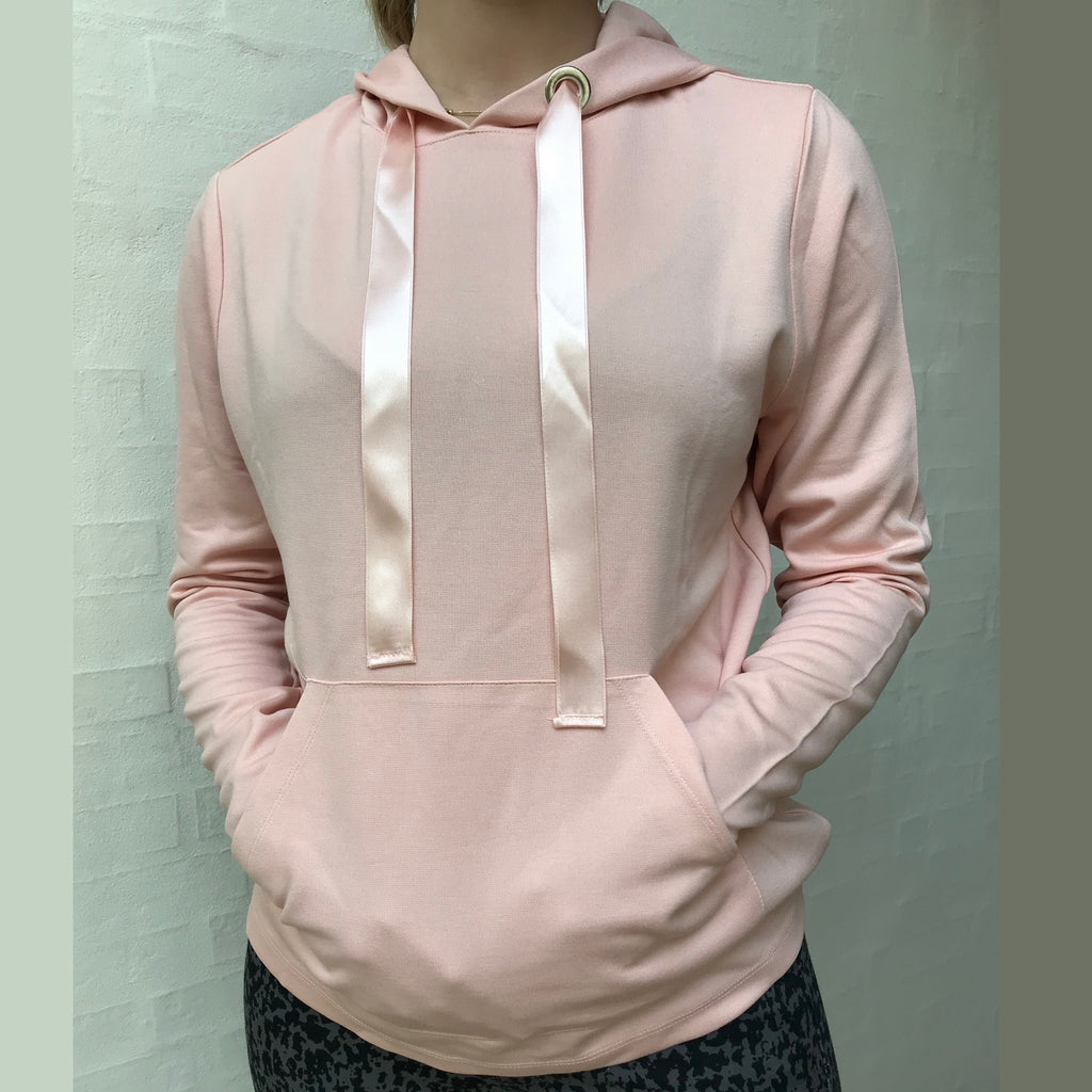 Alma hood sweat · Nude Rose