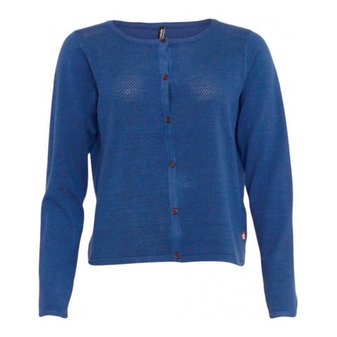 Tiara 2 cardigan · Bright blue sky