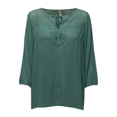 Lima bluse · Bottle Green