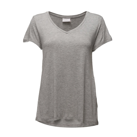 Anna V-neck · Light Grey