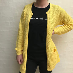 Marrocco Cardigan · Lemon