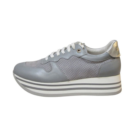 Melania skind sneakers · Grey