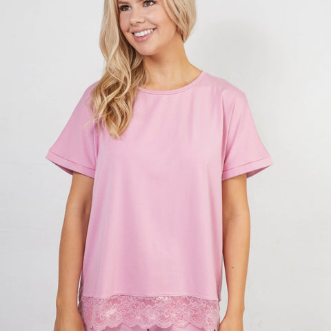 Cozy ME TIME t-shirt · Rose