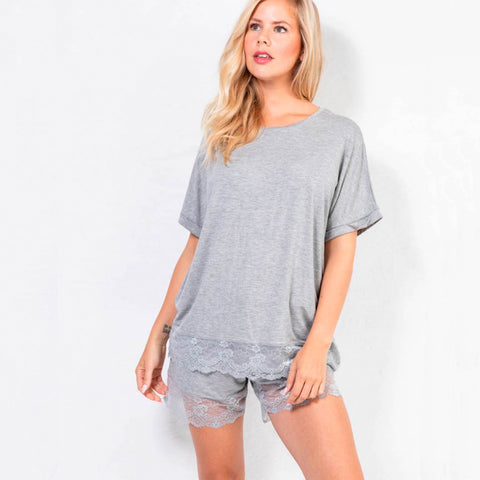 Cozy ME TIME shorts · Grey