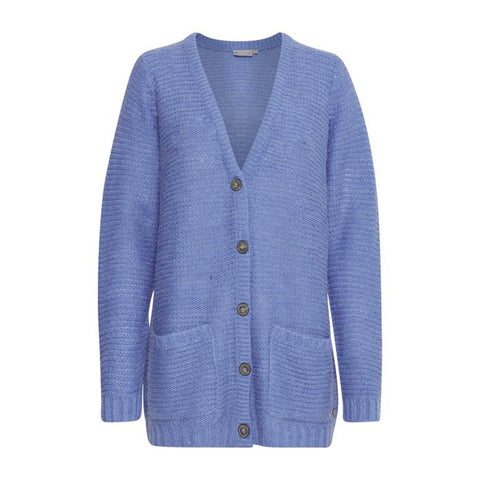 Fremretta cardigan · light blue