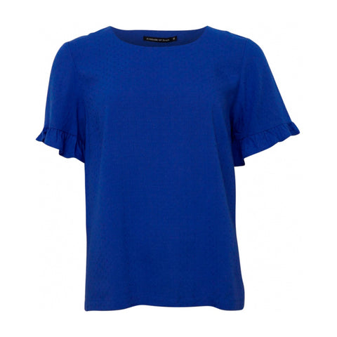 Dun t-shirt · Royal blue