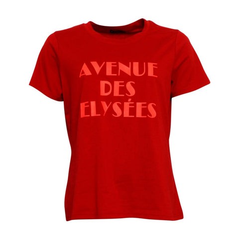 Paris t-shirt · Haute Red