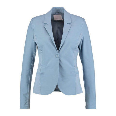 Jillian Blazer · Faded denim