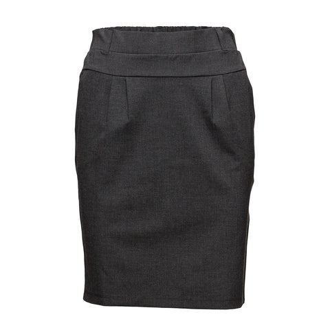 Jillian Skirt · Dark Grey Melange