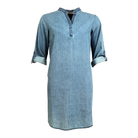 Beatine tunika · blue wash