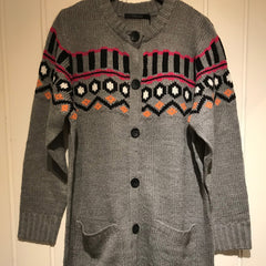 Seanna strik cardigan · Grey