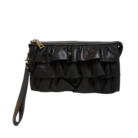 Ella clutch · sort skind