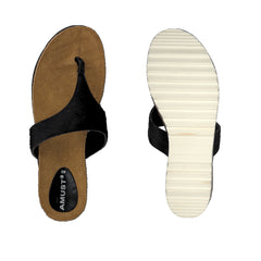 Animal sandal · Black