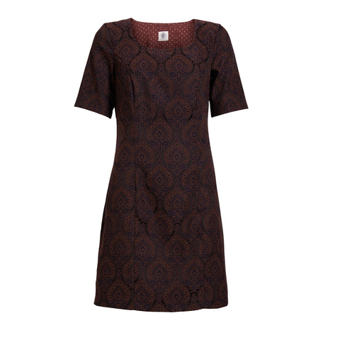 Emily dress · Brown