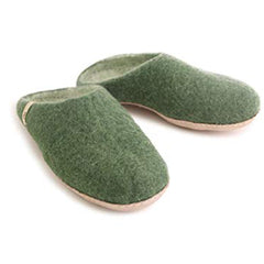 Slippers – Green