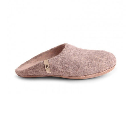 Slippers – Natural Grey