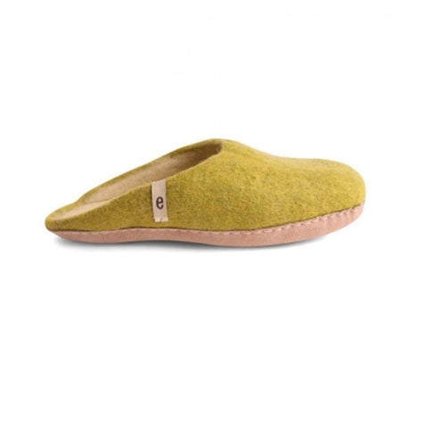 Slippers – Lime Green