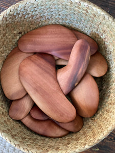 Madrone Gua Sha Cresent Moon