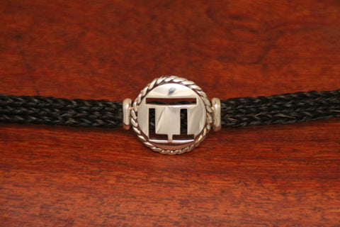 Brand-It Endless Bracelet- Large Disc with Rope Trim