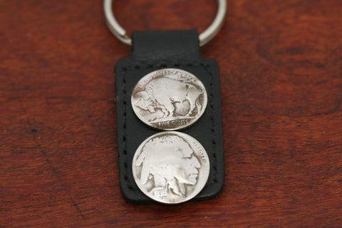 Buffalo & Indian Keychain