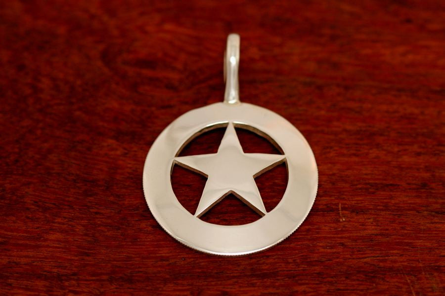 Cinco Peso Star Pendant