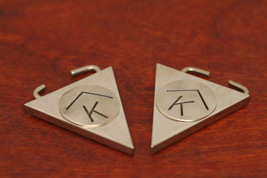 Collar Tips with Brand Stamped