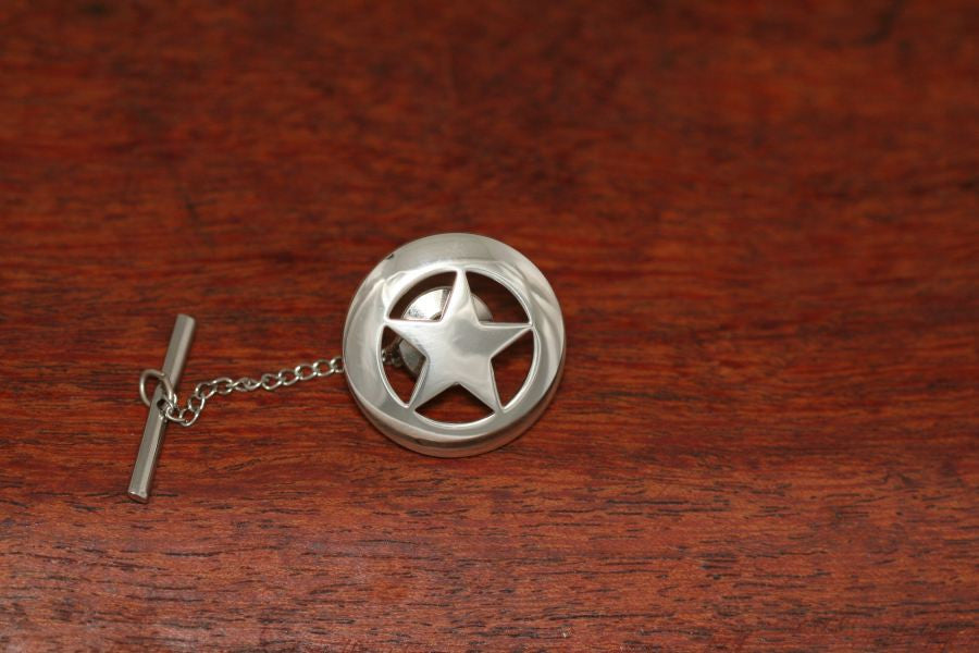 Large Star Lapel or Hat Pin