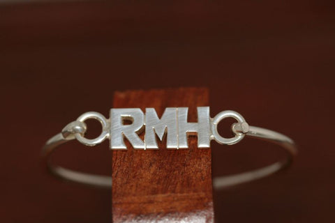 Personalized Bangle Bracelets-Large