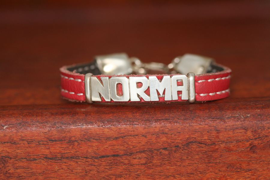 Large Name on an Upsale Casual Bracelet
