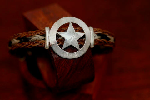 Large Star on a Casual Upscale Bracelet