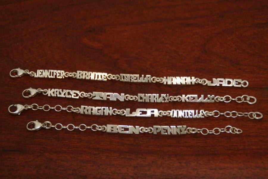 Mothers Bracelet (Five Name)