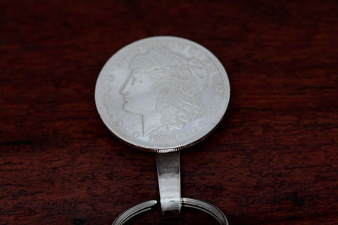 Morgan Silver Dollar Pocket Fob
