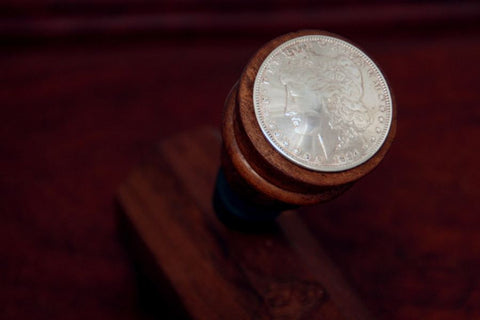 Morgan Silver Dollar Wine Stopper