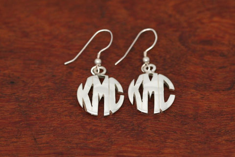 Monogram Earrings - Small Size
