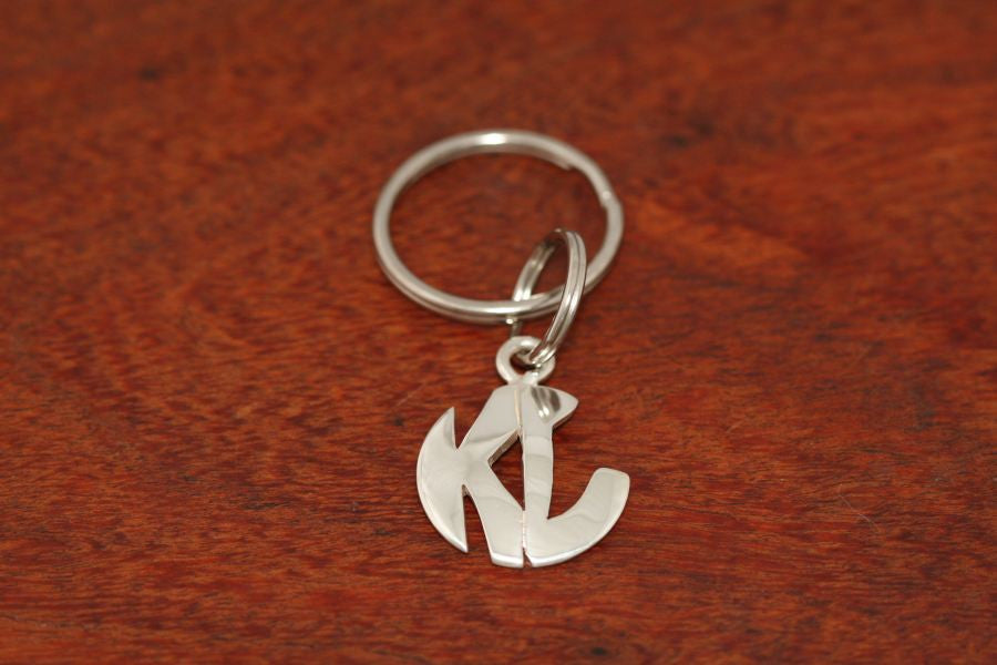 Monogram Key Chain-Large