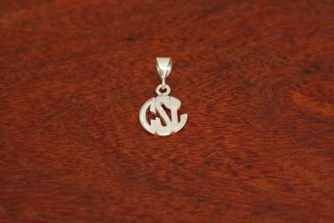 Monogram Pendant - Mini Size