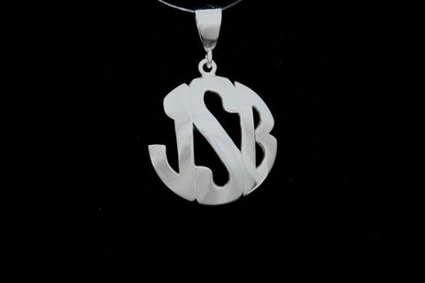 Monogram Pendant - Morgan Dollar