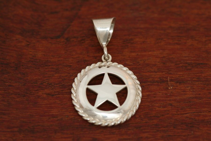 Medium Star Pendant with Rope