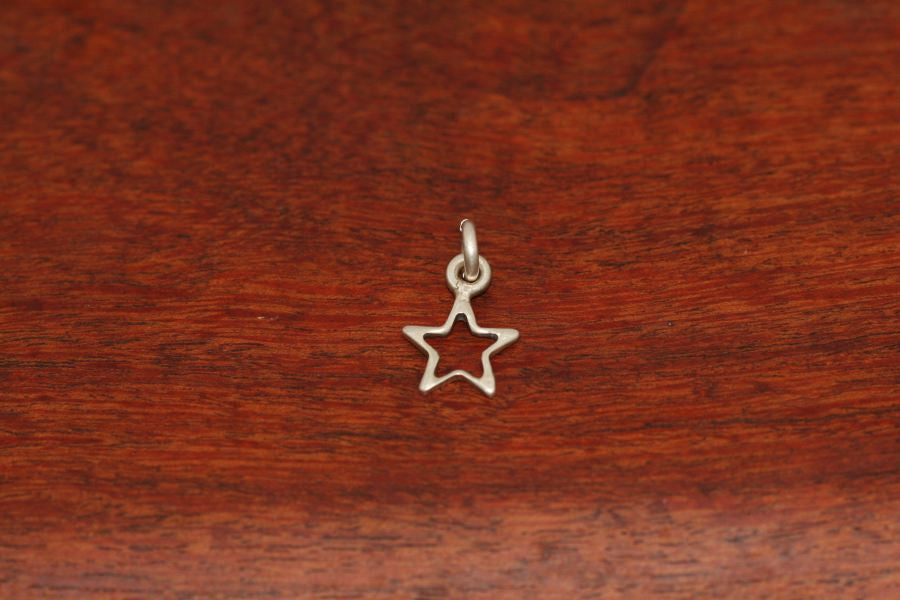 Mini Star in Star Pendant in Sterling