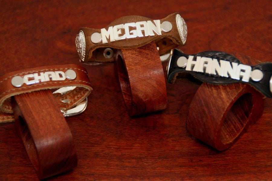 Small Name Buckle Bracelet