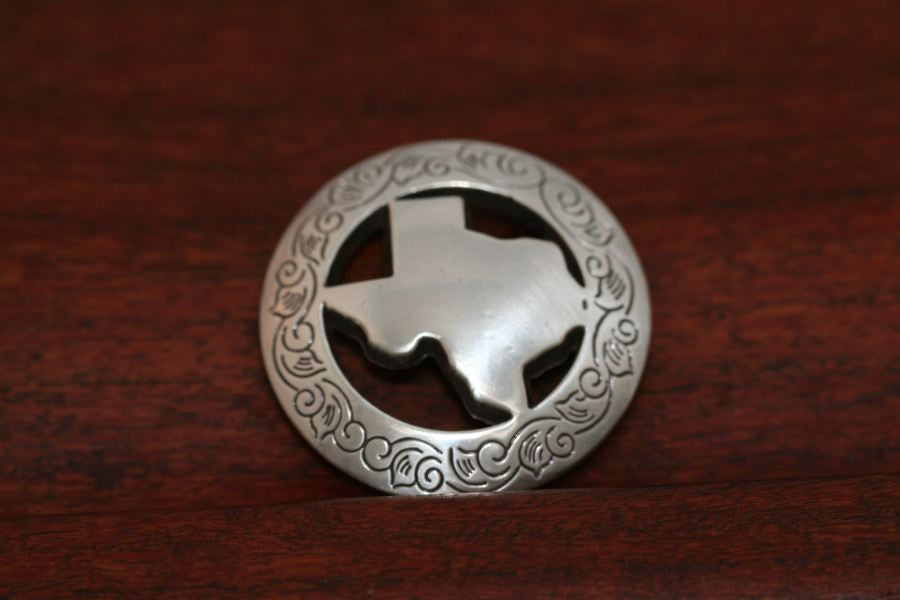 Zinc Star Concho-Large