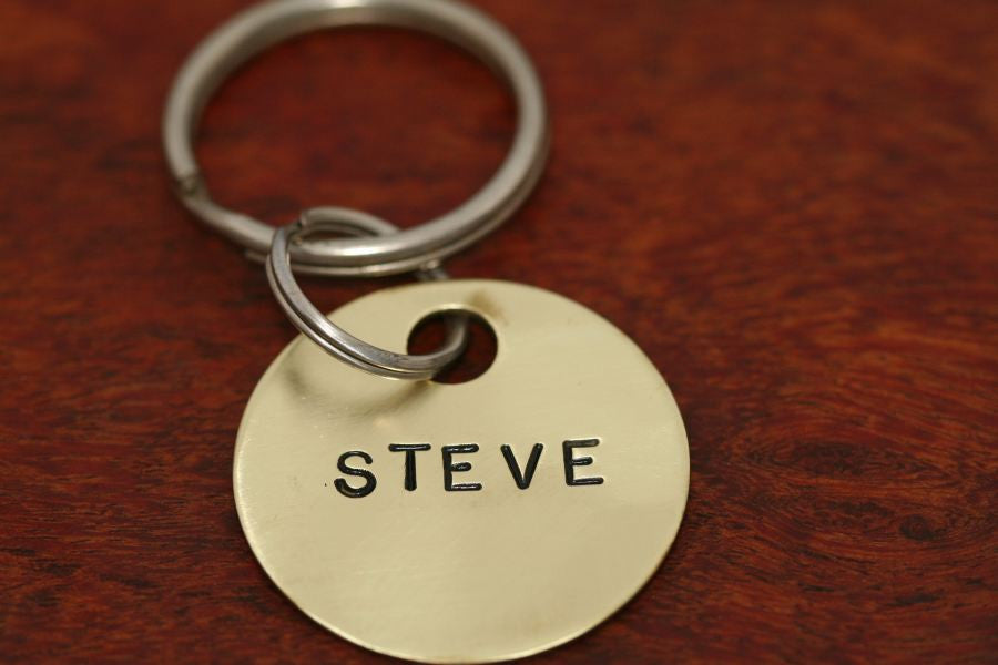 Stamped Key Chain-One Disc