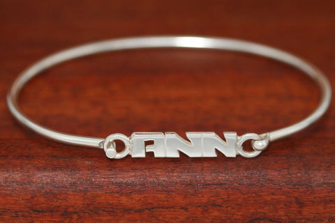 Personalized Bangle Bracelets-Small